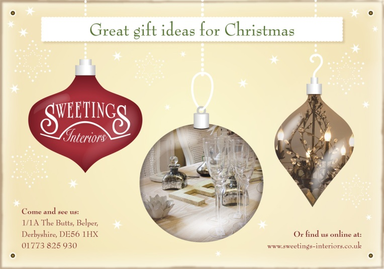 Sweetings Christmas Baubles 2011