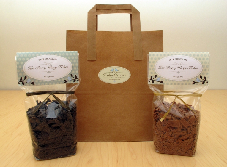 hot choccy flakes from I should cocoa