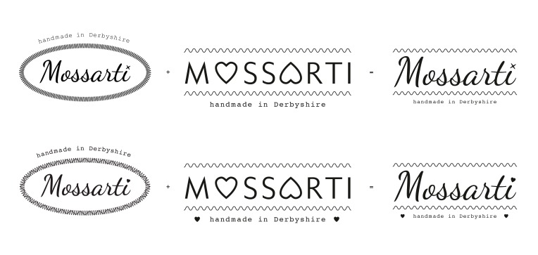 Mossarti logo development